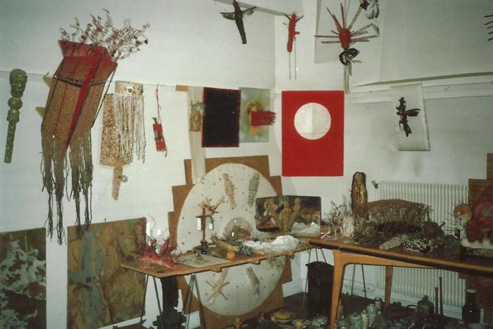 Nancy, Atelier d'artiste de Jacques Braunstein